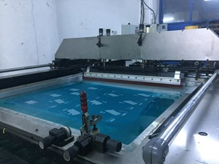 SPS Vitessa Screen Printing Equipment