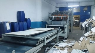 Stock 90x130 Laminating Fully Refurbished Laminating and coating