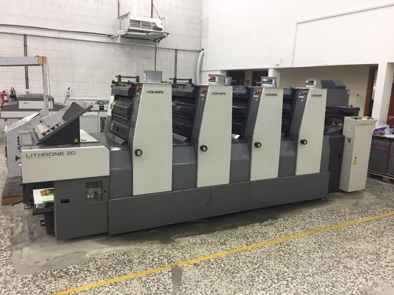Show details for Komori Lithrone L-20