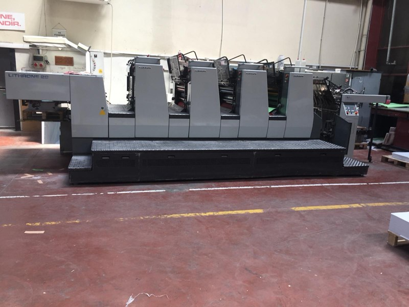 Show details for Komori Lithrone L428
