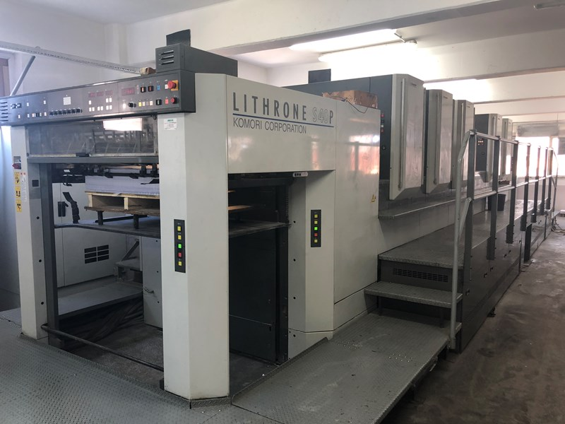 Show details for Komori Lithrone LS540P