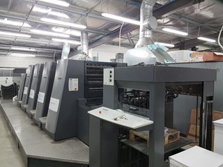 HEIDELBERG SM CD 74/4+LX Sheet Fed