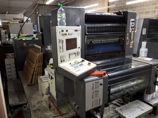 HEIDELBERG SM 74/2 Sheet Fed