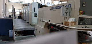 KOMORI L540 Sheet Fed