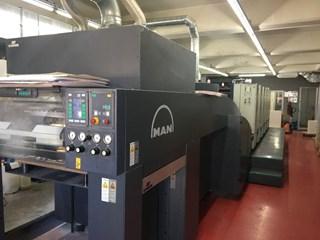 ROLAND 505 + LV 单张纸胶印机