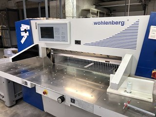 WOHLENBERG 115 Guillotines/Cutters