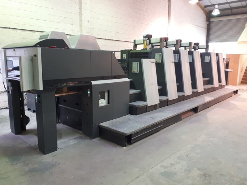 Show details for HEIDELBERG XL 75/5+PLX