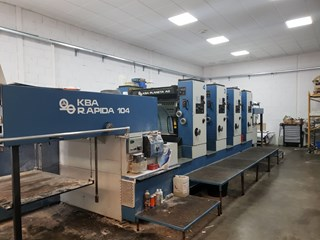 KBA Rapida RA104-4 Sheet Fed