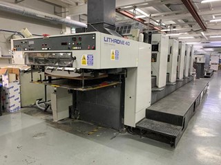 Komori Lithrone 540 Sheet Fed