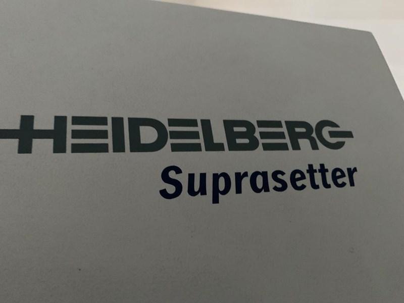Show details for Heidelberg Suprasetter 74