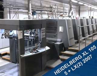Heidelberg SM XL 105 5 LX(2) Sheet Fed