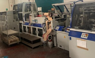 Kolbus BF 512 Hard Cover Book production