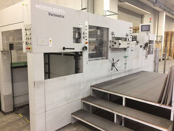 Show details for Heidelberg Varimatrix 105 CS