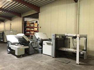 HEIDELBERG TH 82/442 with PFH Folding Machines