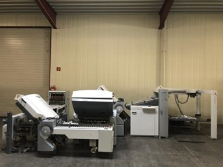 HEIDELBERG TH 82/442 with PFH Plegadoras de papel