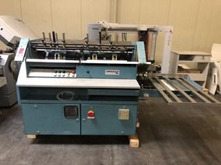 HUNKELER VA 520 K Hard Cover Book Block Production / Sewing