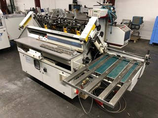 HUNKELER VEA 520 KK/S 3000 Hard Cover Book Block Production / Sewing