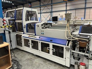 KOLBUS BF 511 Line Hard Cover Book production