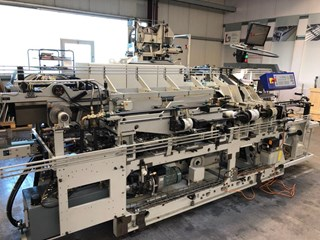 KOLBUS EMP 596 with FE 603 Hard Cover Book production