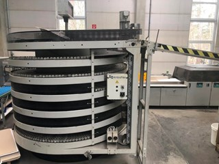KOLBUS TRANSPORT AND DRYING LINE Perfect Binders