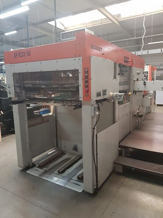 Bobst SP 102 SE Die Cutting