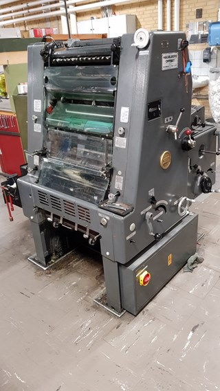 Heidelberg GTO 46 + Sheet Fed