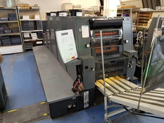 Heidelberg GTO 52-4 UV Version Sheet Fed