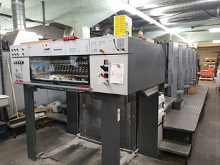 Heidelberg Speedmaster SM 102-5P Sheet Fed