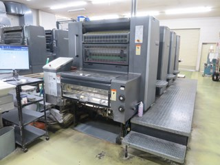 Heidelberg SM 74-4 Sheet Fed