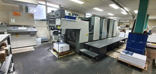Komori LITHRONE L-428 ES Sheet Fed