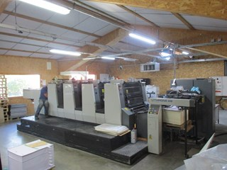 Komori Lithrone NL-428 Sheet Fed