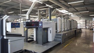 Komori  GL 840P HUV Sheet Fed