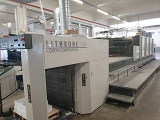 Komori Lithrone LS-440 HC Sheet Fed