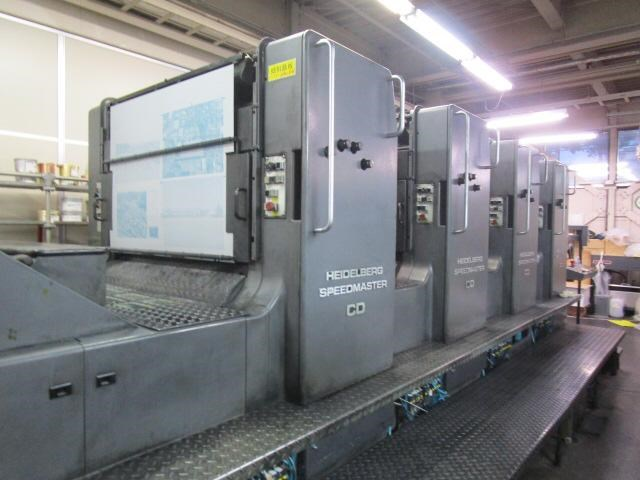 Show details for Heidelberg CD 102 V