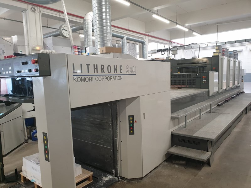 Show details for Komori Lithrone LS-440 HC