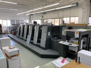 Heidelberg CD 74-5+L(X2) Axis Control Sheet Fed