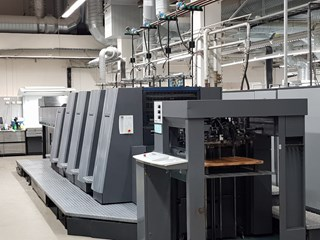 Heidelberg CD 74-4+L(X2)-C Sheet Fed