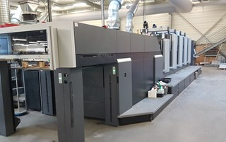 Heidelberg CX 102-4+L(X2) InpressControl Sheet Fed