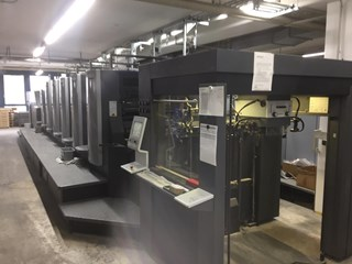 Heidelberg CX 102-5+L(X2)  Sheet Fed