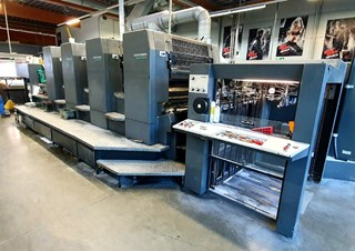 Heidelberg SM 102-4-P3 Sheet Fed