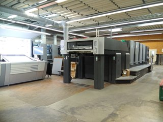 Heidelberg SM 102-4-P Sheet Fed