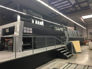 Heidelberg SM XL 145-6+LX UV EOP Sheet Fed