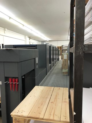 Heidelberg SM XL 75-5-C Sheet Fed