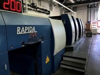 KBA Rapida 105-4 SW2 PWVA Sheet Fed