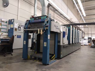 KBA Rapida 74-5 UV Sheet Fed