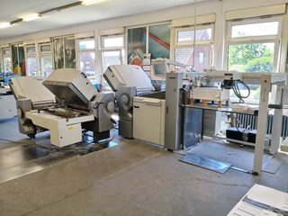 Heidelberg Stahlfolder TH 82/4-6-2 Folding Machines