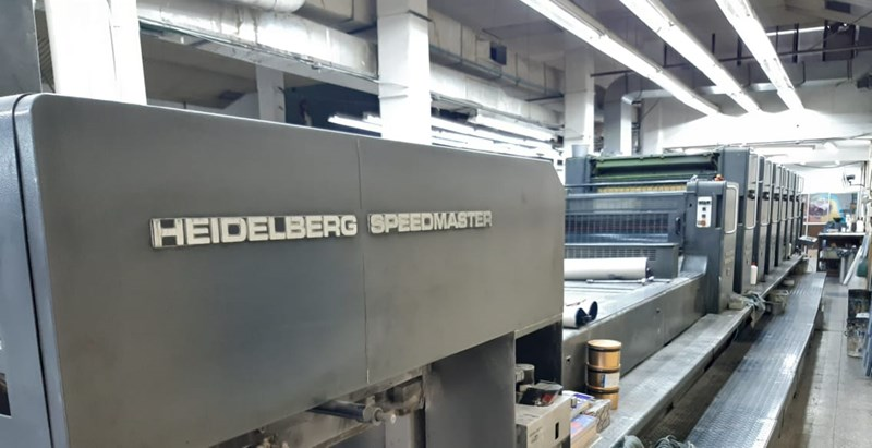 Show details for Heidelberg CD 102-S+L Autoplate