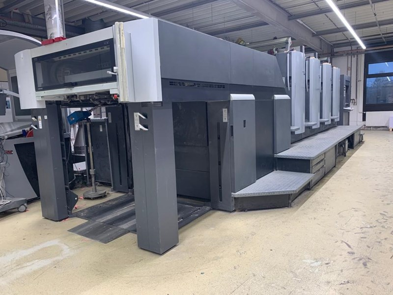 Show details for Heidelberg SM 102-4 (straight machine)
