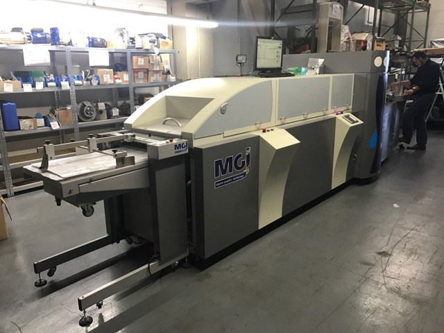 MGI Jetvarnish Spot UV Coater