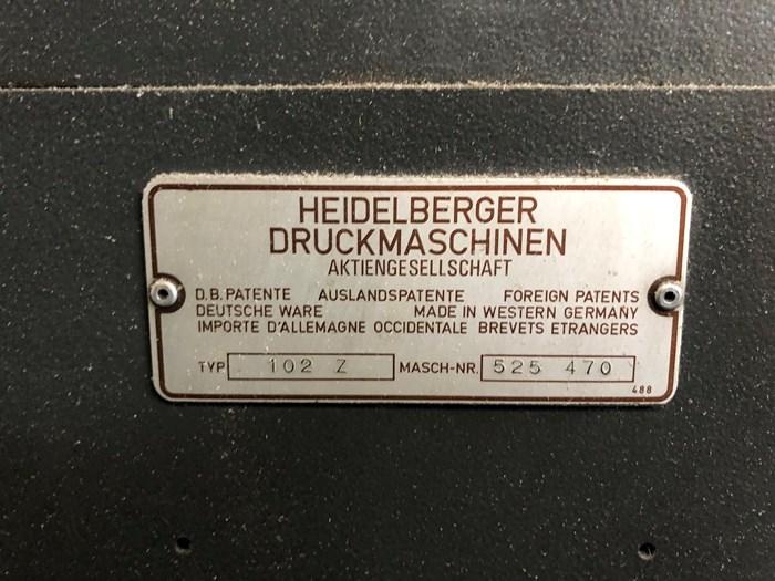 Heidelberg SM 102 Z